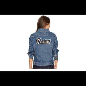 Levi's rams trucker jacket